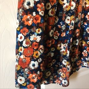 Impressions Tops - Floral Sleeveless Blouse